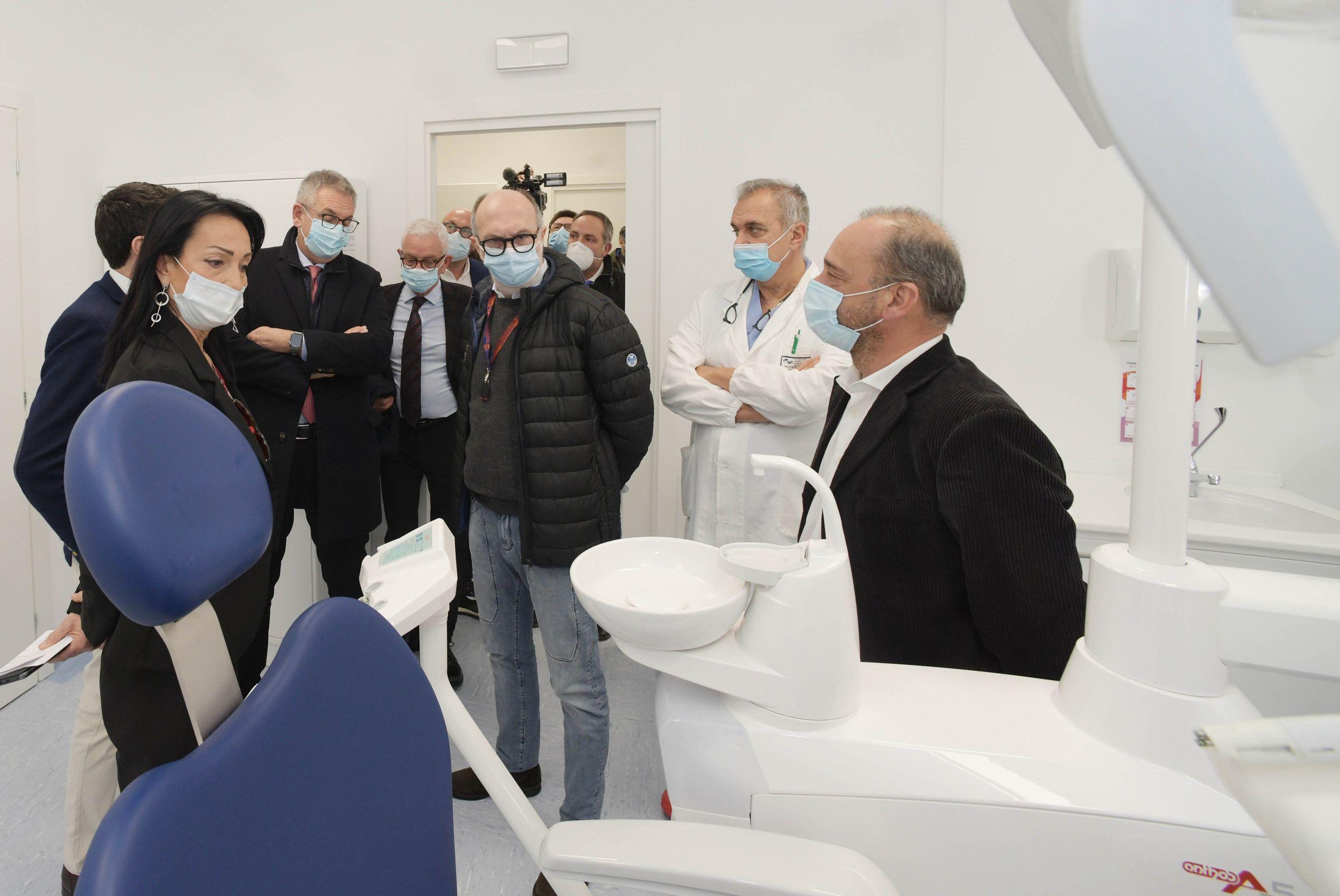 Immagine per Cura dei denti in ospedale a Monfalcone, da oggi il San Polo ha il suo nuovo ambulatorio
