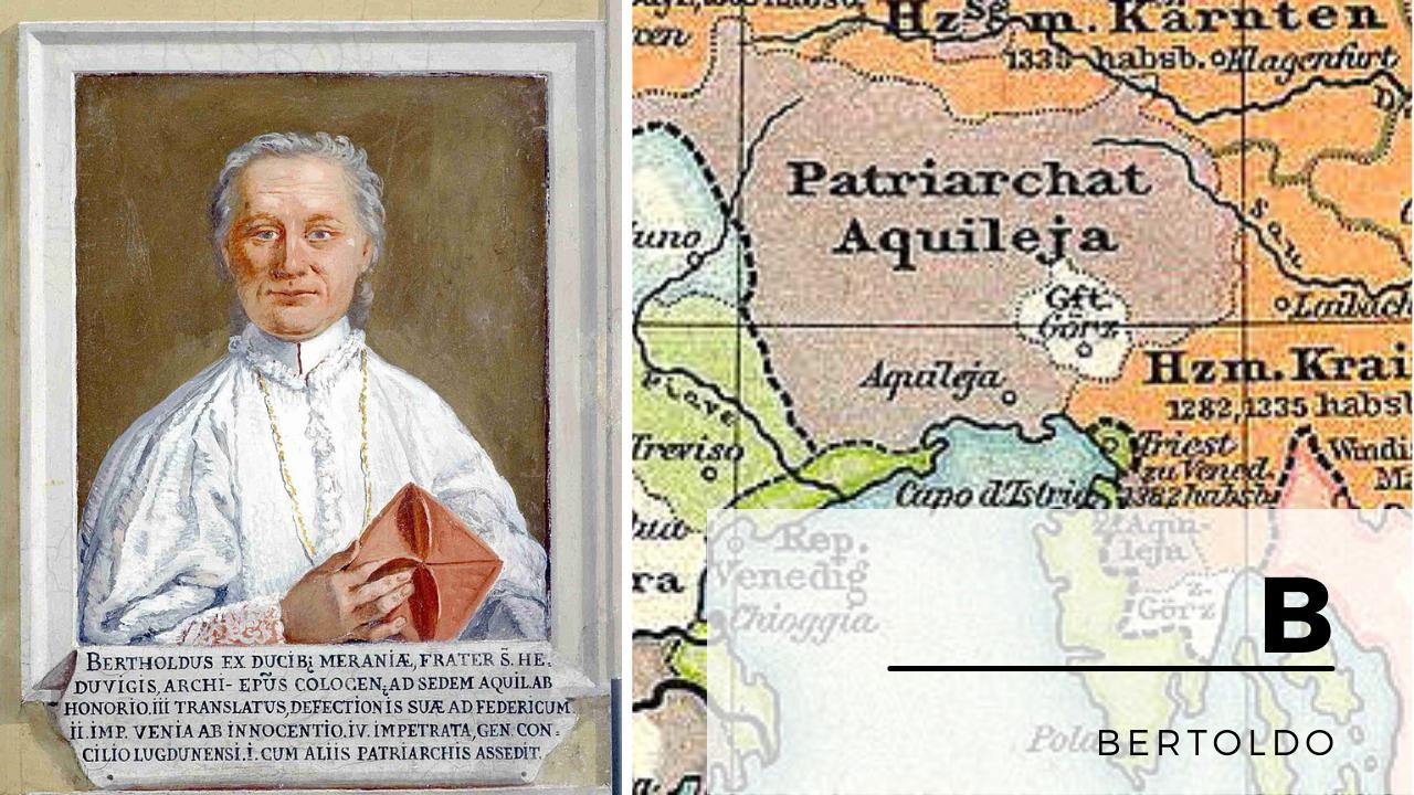 Copertina per Rivolte e potere, il Patriarcato di Bertoldo protagonista del Medioevo in Italia