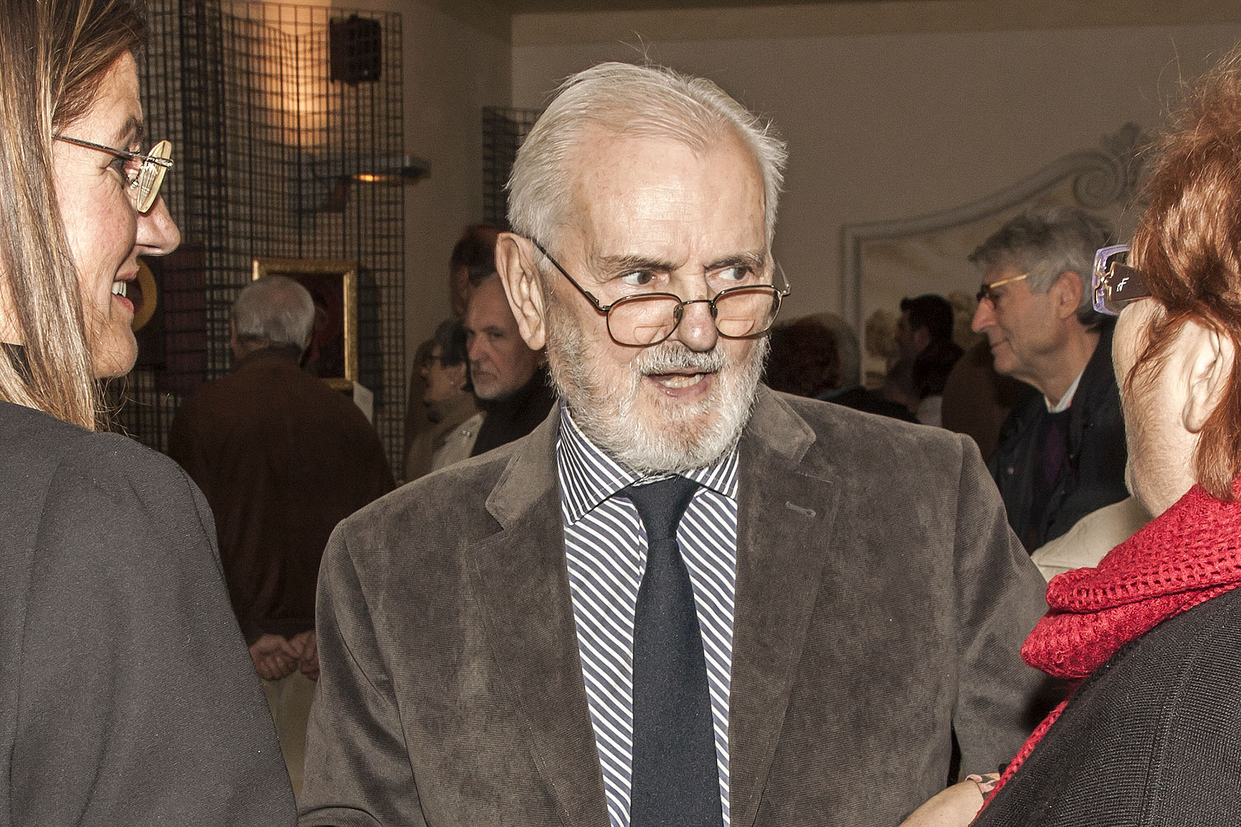 Immagine per Turriaco piange la scomparsa a 88 anni di Silvio Cosolo, anima del commercio e dell'arte