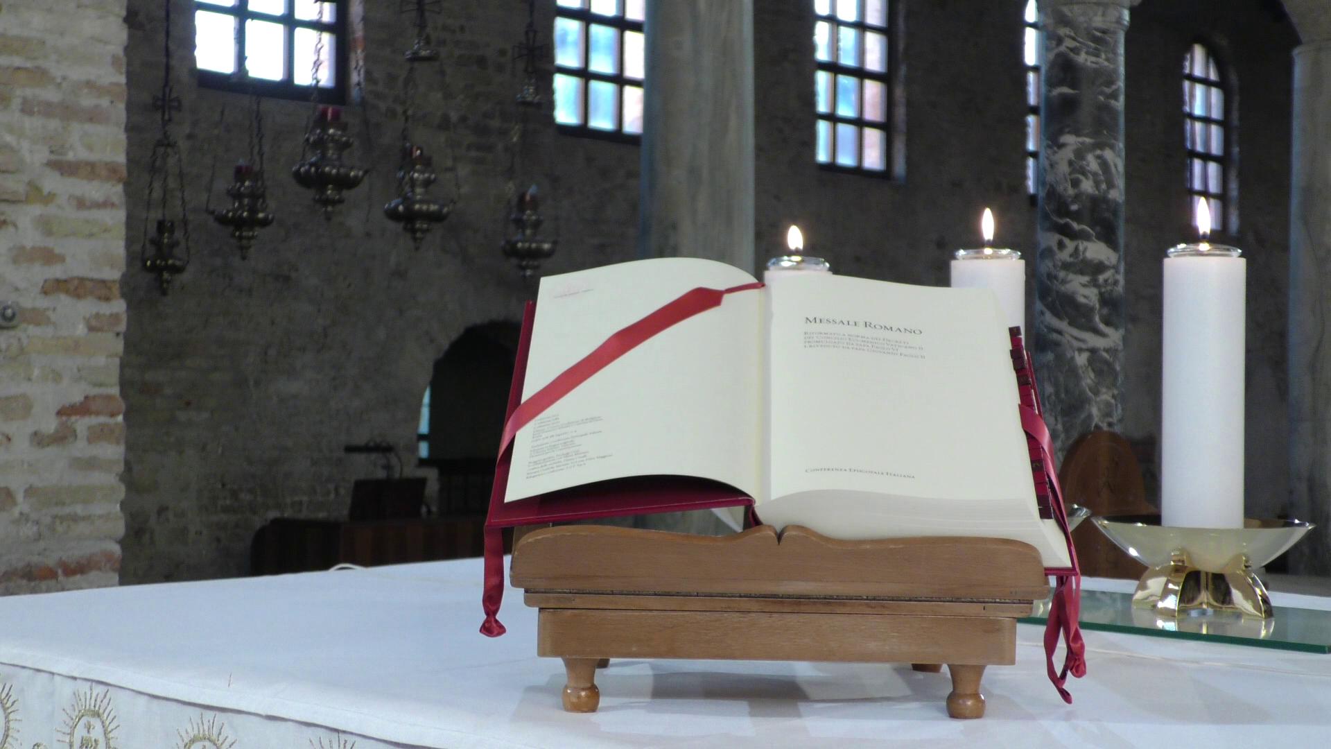 Immagine per In vigore da oggi la terza edizione del Messale Italiano, le novità dal Padre Nostro al Gloria