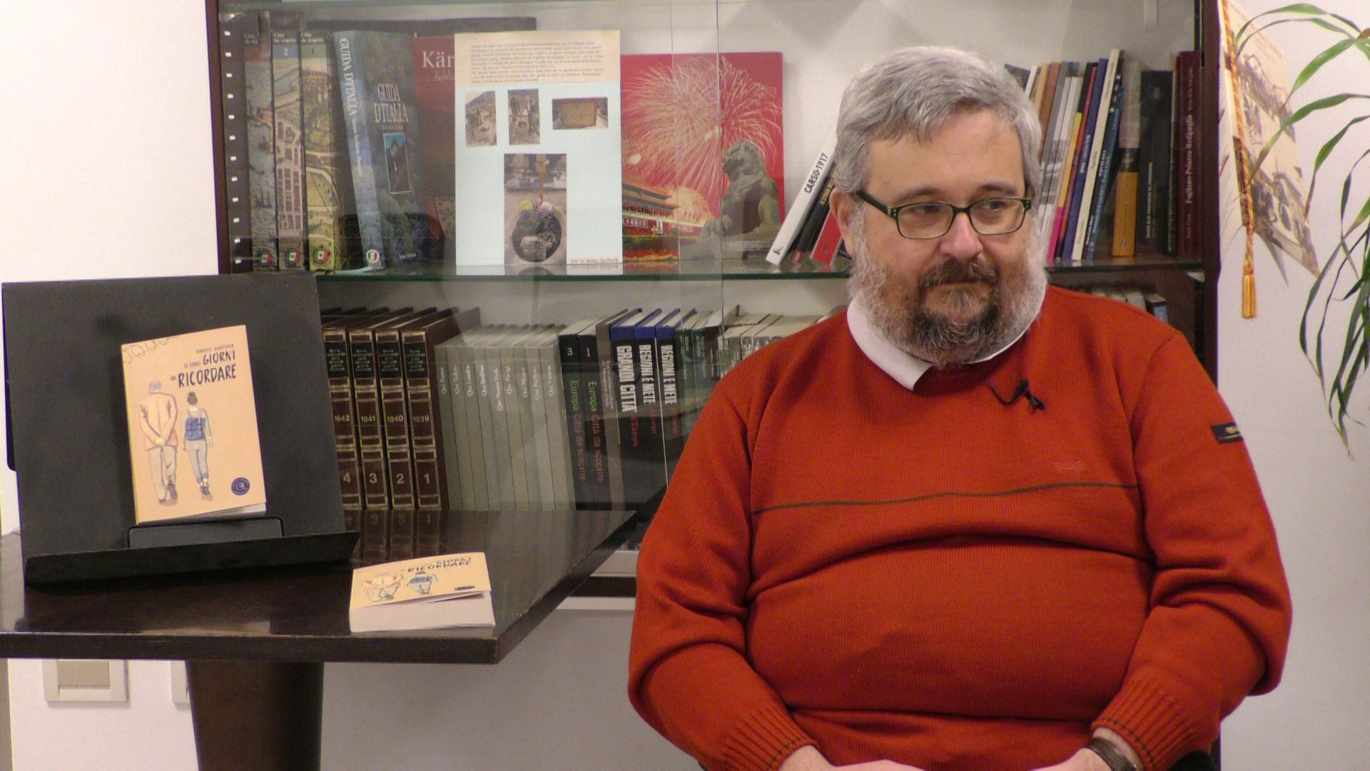 Copertina per L'appello ad avere nuovi testimoni della memoria, esce oggi il secondo romanzo di Daniele Gouthier