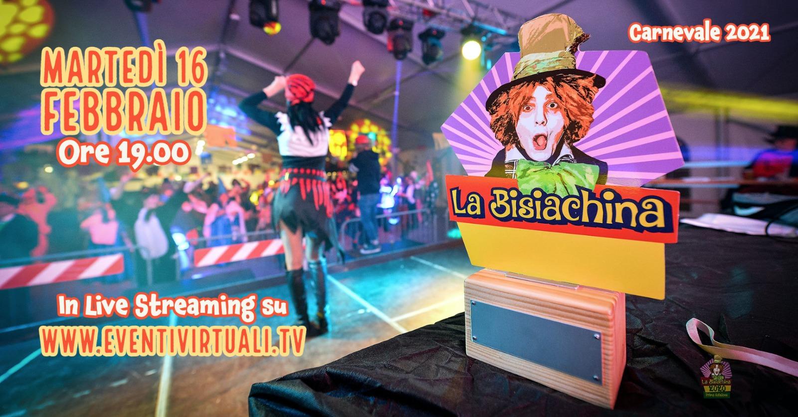 Immagine per Anche Turriaco sostiene la 'Bisiachina', appuntamento in live streaming per carnevale