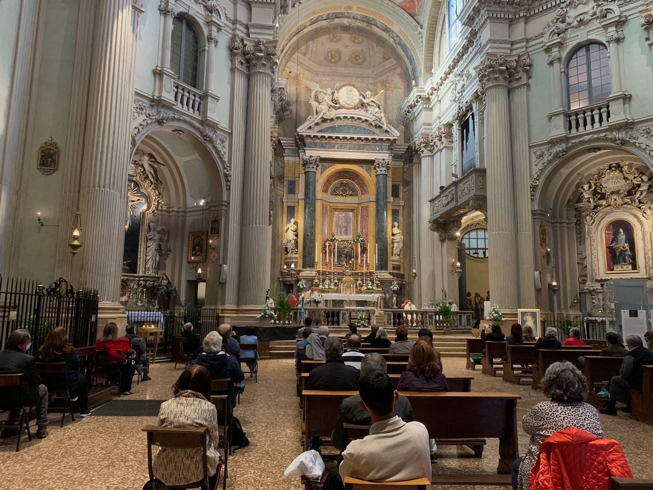 Immagine per A Bologna i monaci di Barbana riaprono il santuario della Vita
