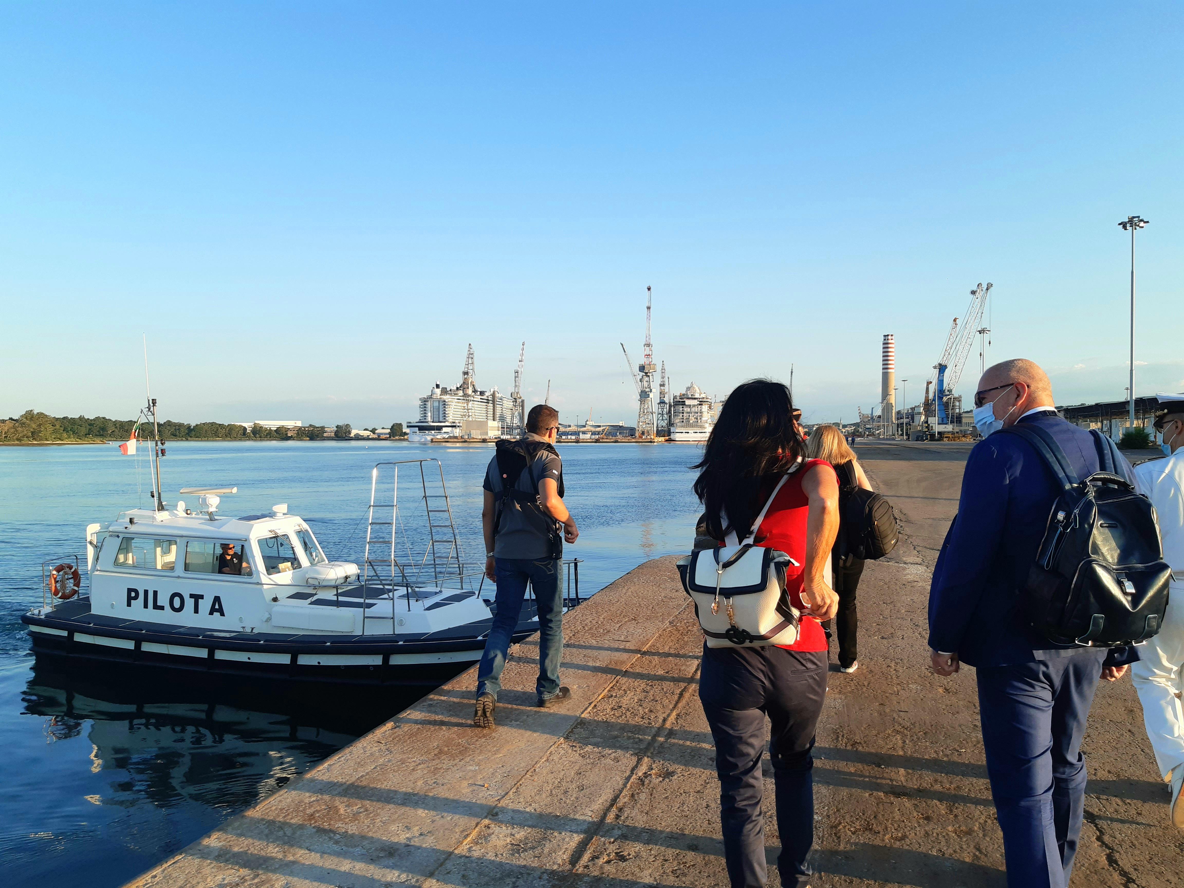Immagine per Monfalcone, due giorni dedicati al porto e alla rete portuale europea