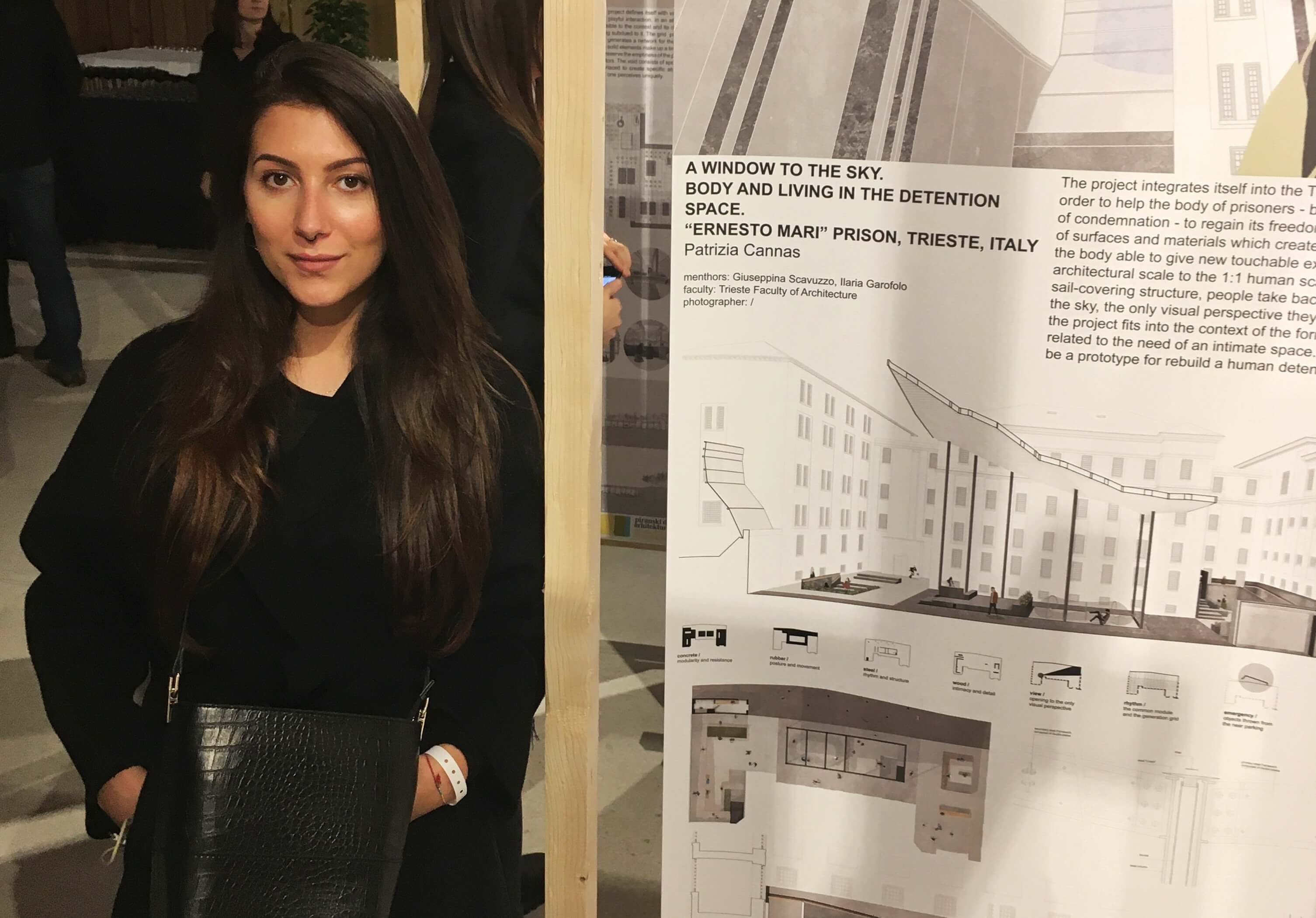 Immagine per Una 26enne di Medea tra le studentesse chiamate a ridisegnare gli spazi del carcere di Udine