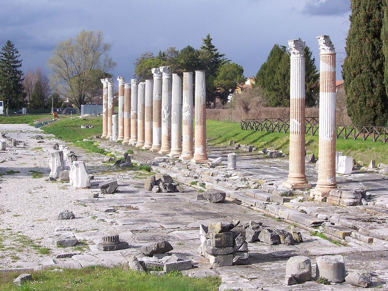 Immagine per La storia di Aquileia e delle sue invasioni, le pagine del Seicento rivivono a Cervignano