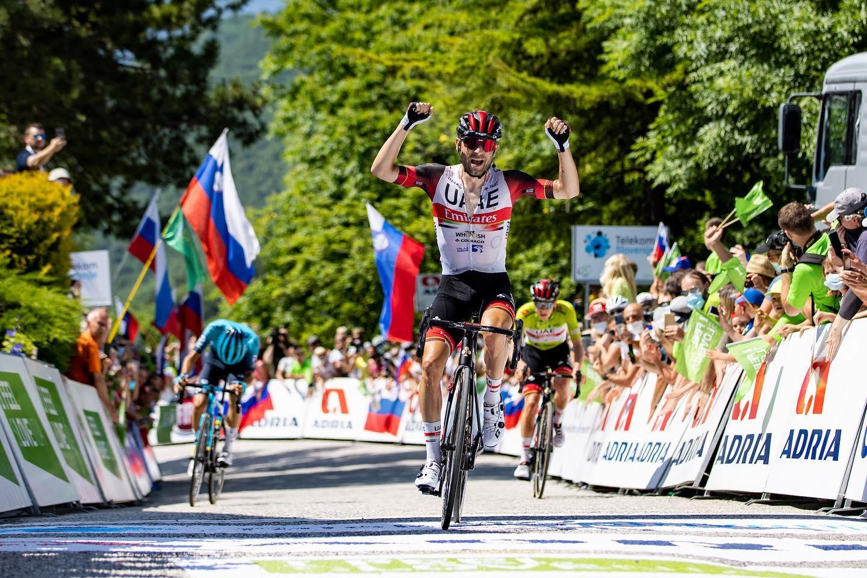 Immagine per Stava per mollare, oggi è campione: Ulissi trionfa al Giro di Slovenia a Nova Gorica