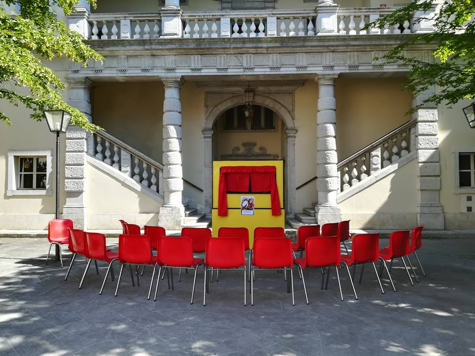 Immagine per La Corte d'Alviano a Gradisca diventa palcoscenico, inizia il teatro per bambini