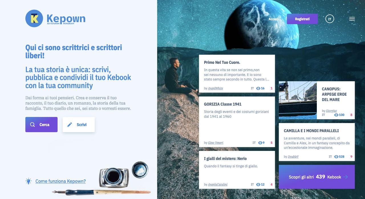 Copertina per Racconti e storie online, nasce a Gorizia il social network dei giovani autori