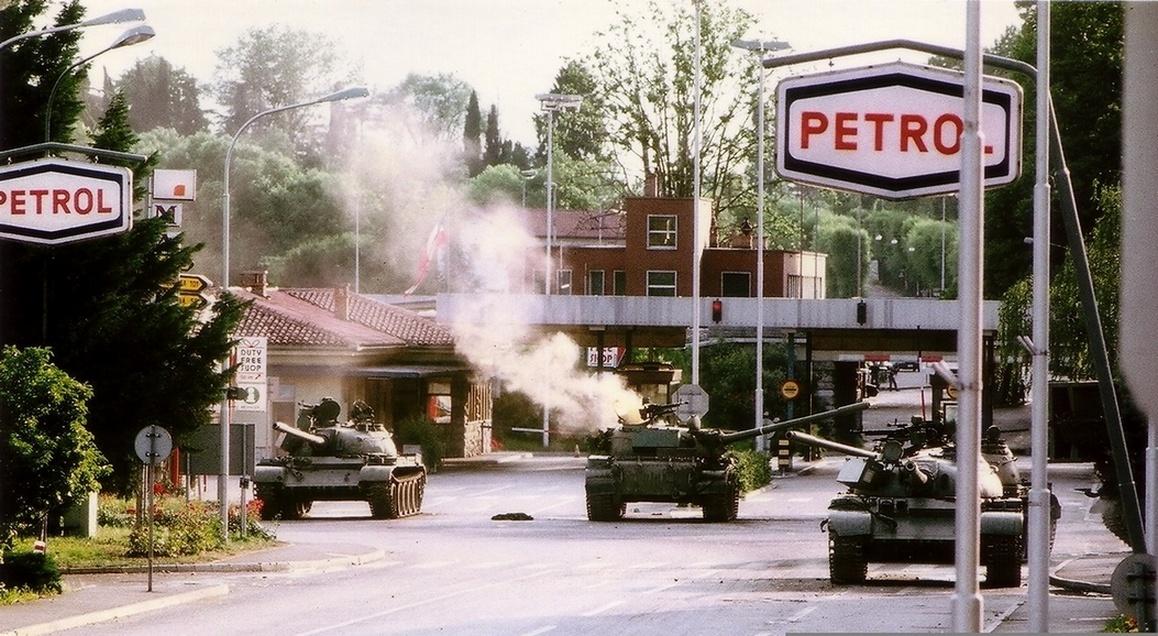 Immagine per Quella guerra che arrivò fino a Gorizia, 30 anni fa tornavano le armi sul confine