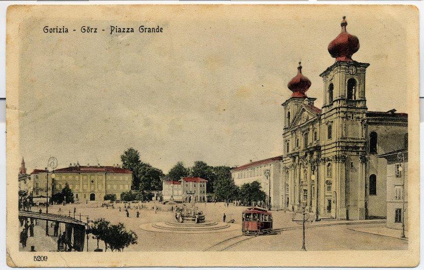 Copertina per La bandiera slovena su Gorizia, quei giorni dopo la fine della Grande Guerra