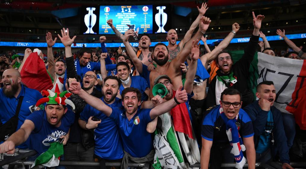 Immagine per L'Italia trionfa a Wembley, una ragazza di Capriva nella notte magica di Londra