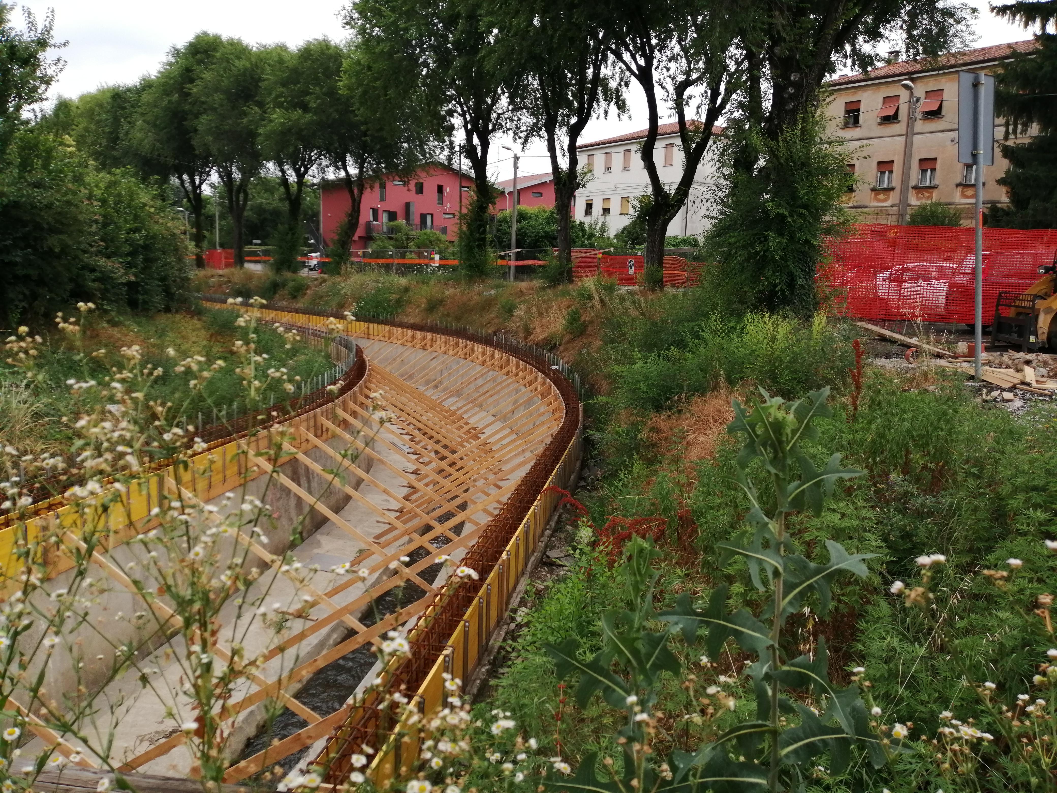 Immagine per Confine ancora chiuso e lavori lungo il Corno a Gorizia, dubbi in via San Gabriele