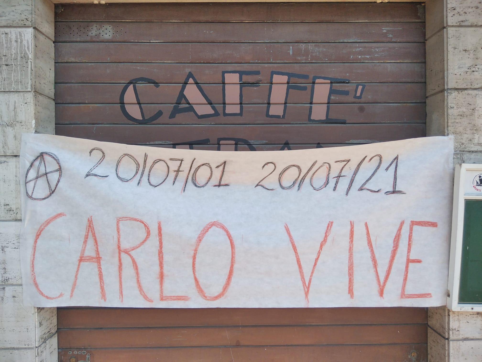 Immagine per Ucciso negli scontri del G8 di Genova, Carlo Giuliani ricordato a Monfalcone