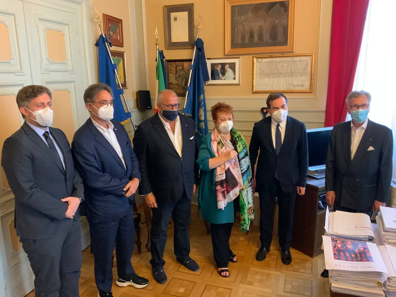 Immagine per Roma tende la mano a Gorizia per il 2025, sinergia sulle grandi opere