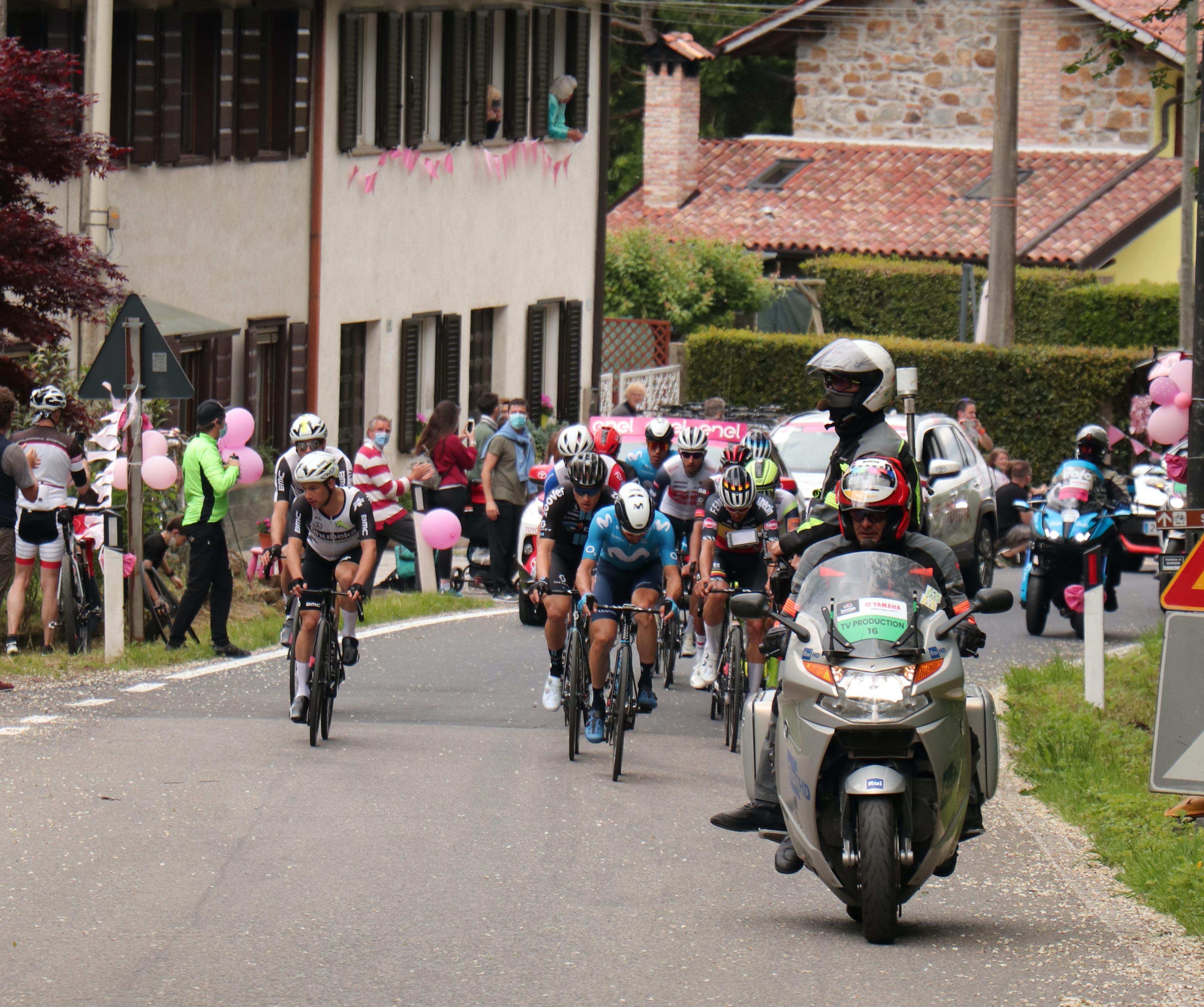 Immagine per Gaffe geografica della Rai durante il Giro d'Italia, il Collio finisce in Slovenia