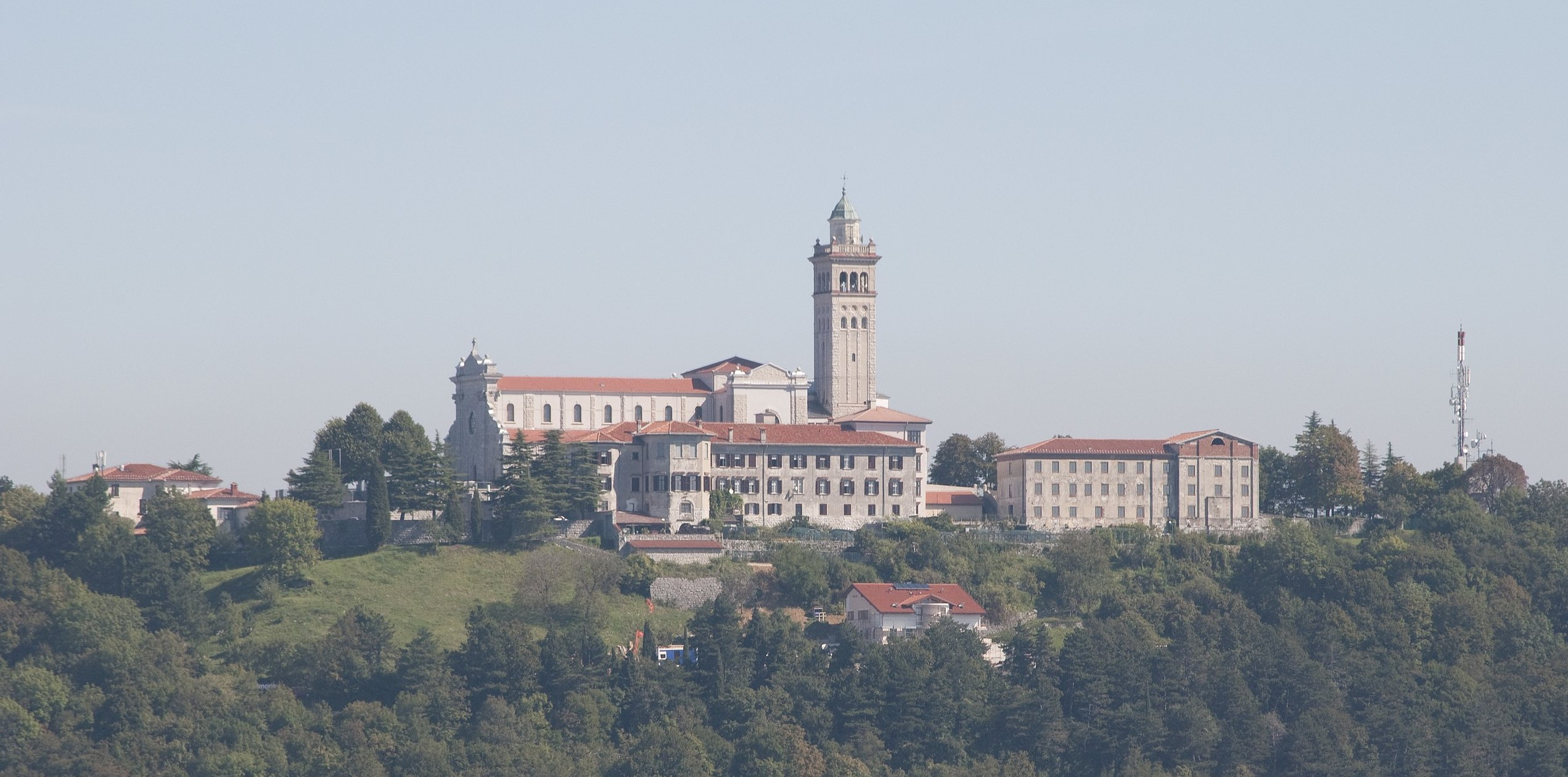 Immagine per Nova Gorica guarda già oltre la corsa rosa, il Giro di Slovenia toccherà Monte Santo