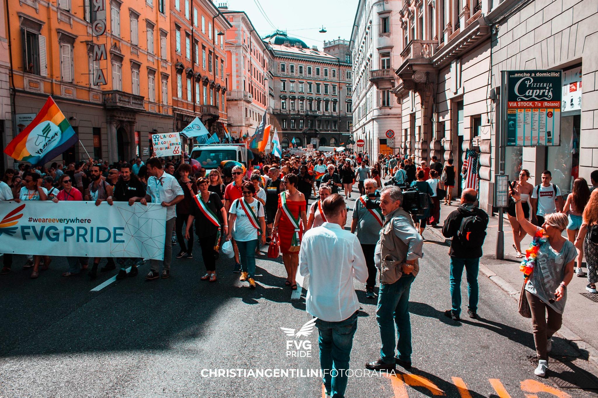 Immagine per Fu la fine di tante umiliazioni, Gorizia celebra la Giornata contro l'omofobia