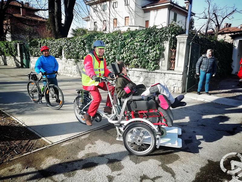 Immagine per Weekend sui pedali per scoprire le bellezze del Goriziano, c'è anche la bici solidale