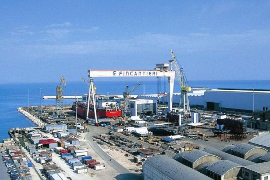 Immagine per Screening di massa sulle navi di Fincantieri a Monfalcone, accordo con Asugi