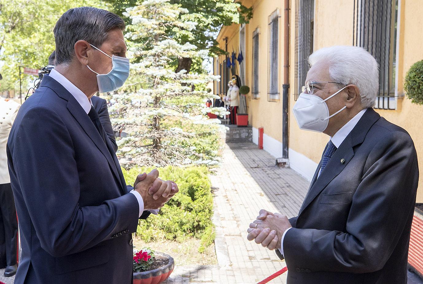 Immagine per Gorizia riabbraccia Mattarella, oggi la visita con l'amico Pahor