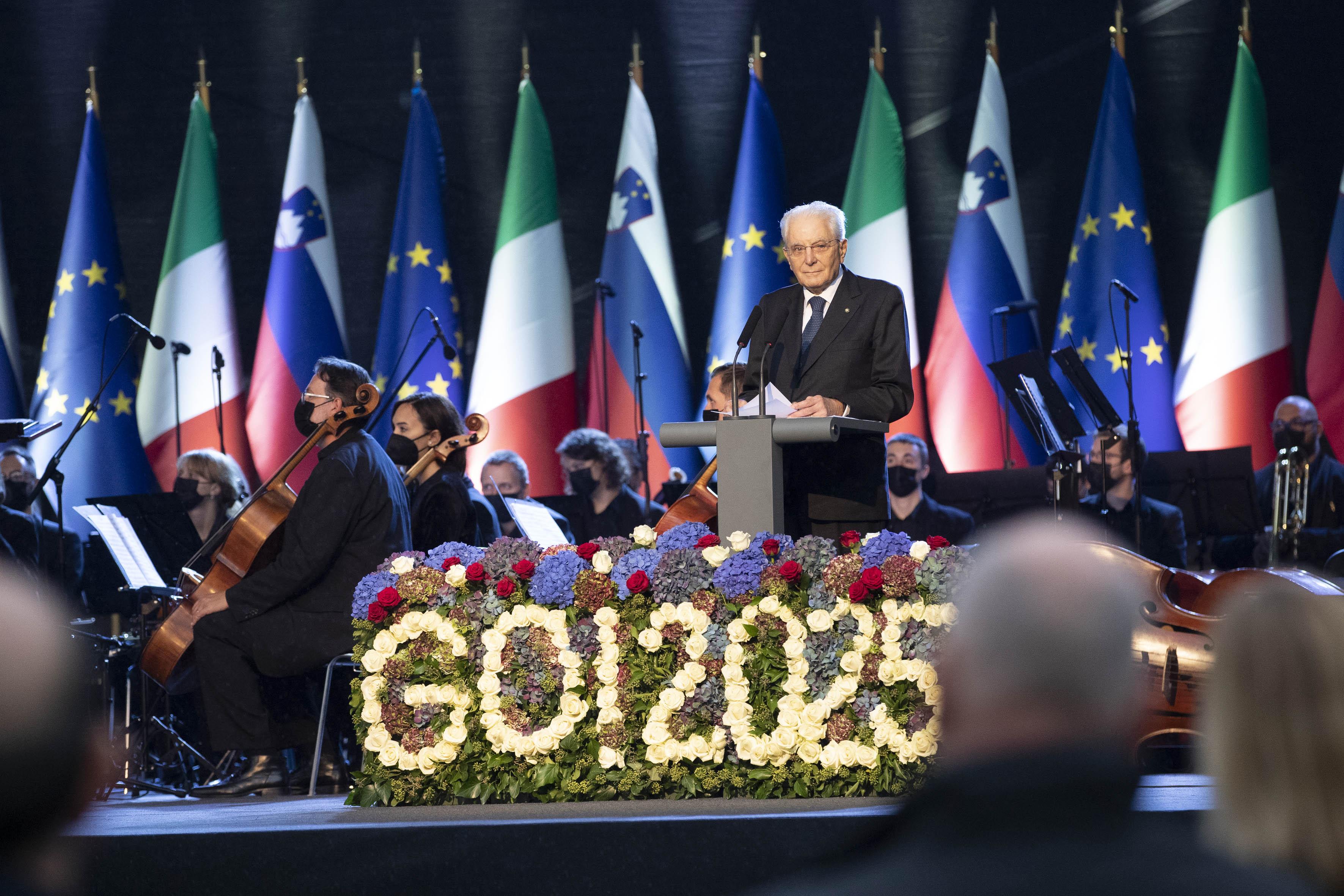 Immagine per Gorizia e Nova Gorica modello in Europa, Mattarella guarda ai Balcani