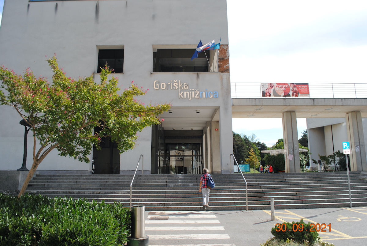 Immagine per L'anima culturale di Nova Gorica, una biblioteca pop che guarda al futuro