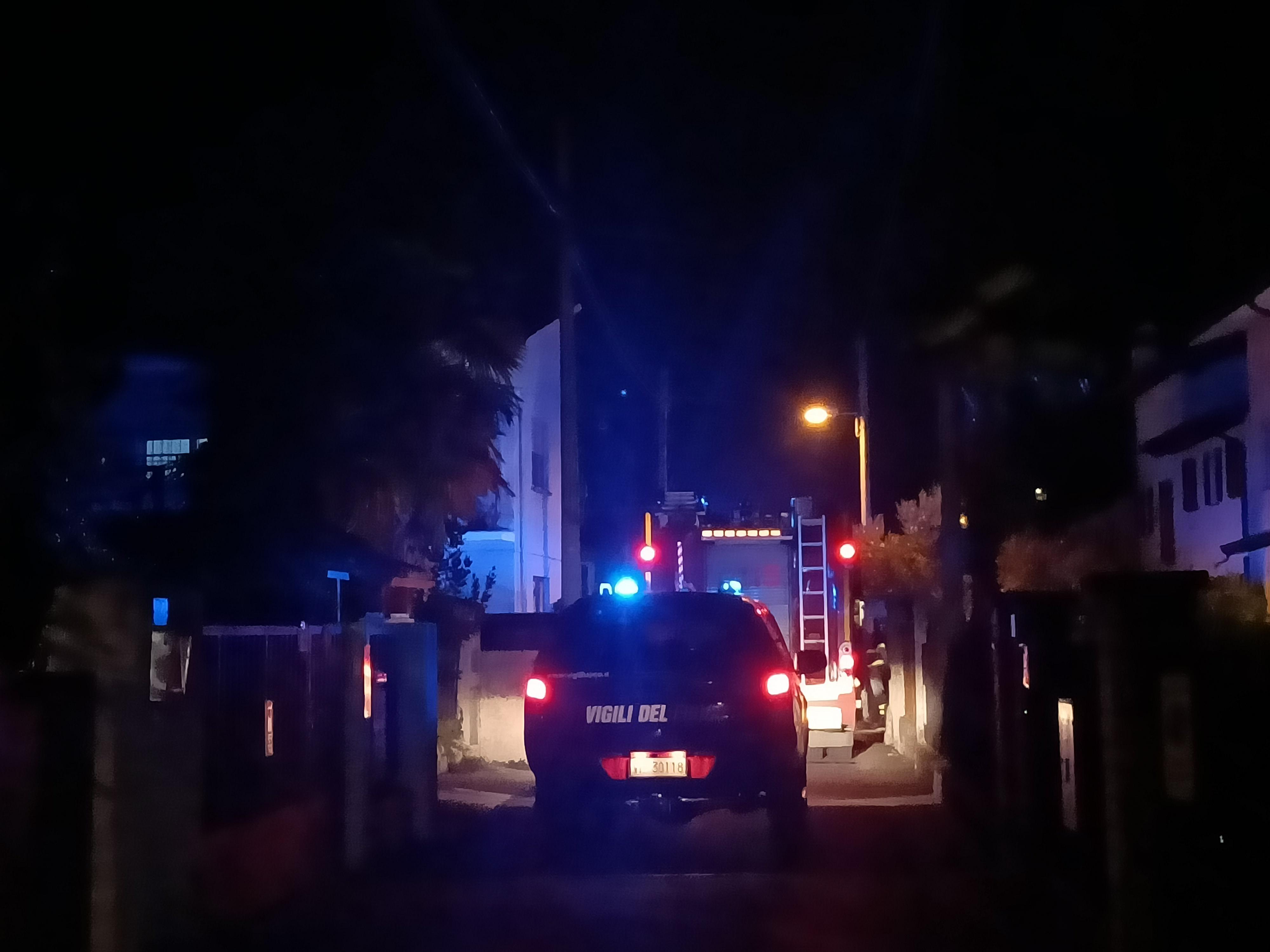 Immagine per Fiamme in un camino a Gradisca, scatta l'allarme in via Zorutti