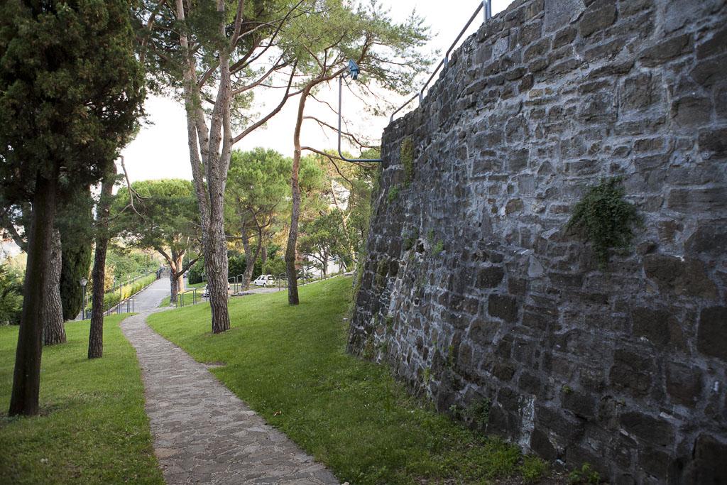 Immagine per Rifiuti e sporco nel parco del castello, volontari in campo a Gorizia