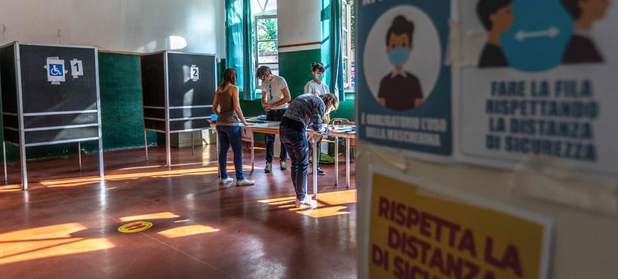 Immagine per Election day nel Goriziano, candidati e liste in corsa per diventare sindaco